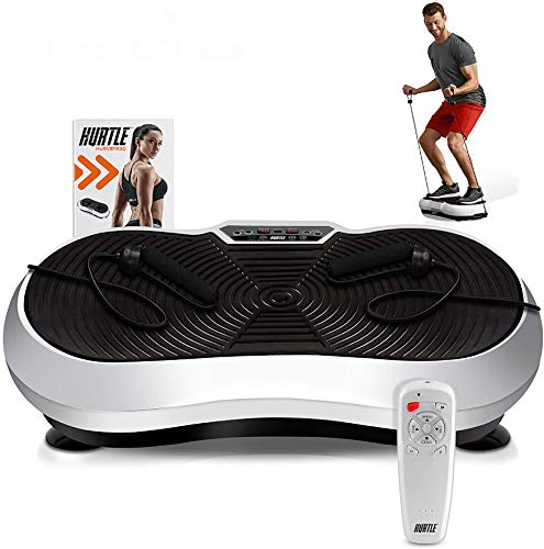 Hurtle Fitness Vibration Platform Workout Machine | Exercise Equipment For Home | Vibration Plate |...