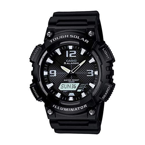 Price comparison product image Casio AQS810W-1AVCF Men's AQ-S810W-1AV Solar Sport Combination Watch