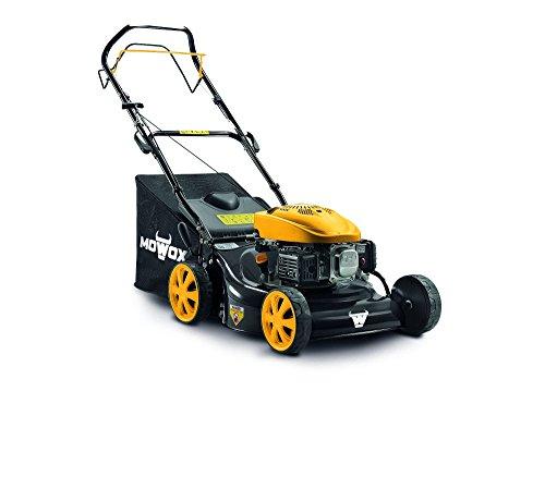 Mowox PM 4635 S, selbstfahrender Benzinrasenmäher, min. 1,6 kW/2800 rpm, 46 cm, 55l Grasfangsack, kugelgelagerte Räder