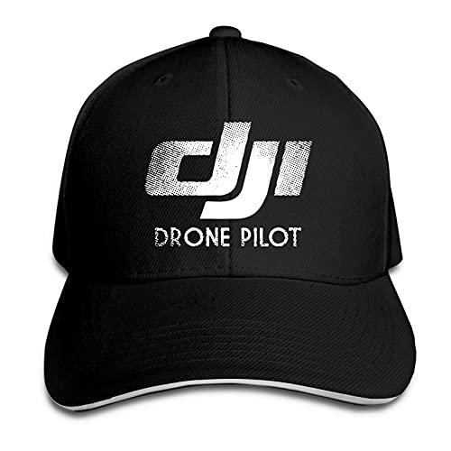 YINGWEN Cappellini Baseball DJI Drone Phantom Pilot Cappellino Trucker Regolabile Unisex con Berretto da Baseball