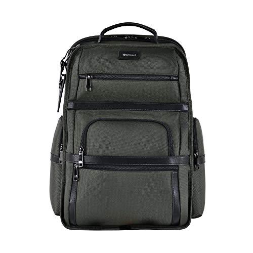 Eminent Laptop-Rucksack Roadmaster 40,6cm (16 Zoll) 28l langlebig leicht Diebstahlschutz für Business, Freizeit, Urlaub, Outdoor, Tagesrucksäcke für Herren, Damen, Uni oder Schule, Militärgrün