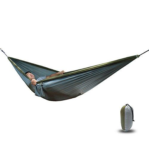MONEYY Piscine de Plein air de hamacs Suspendus Swing léger lit Double comme 300 * 200cm Parachute,j
