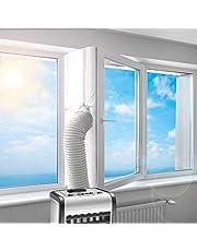 Uszczelnienie okien do przenośnych klimatyzatorów   Hot Air Stop do mocowania na oknach uchylnych   pasuje do każdego klimatyzatora i wszystkich rozmiarów węża, uszczelnienie okienne, klimatyzacja, 400 cm