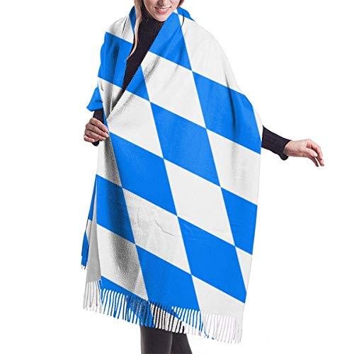 Bavaria FlagBlanket, Tapisserie, Big Shawl Winterdick Warmer Schal Wickelschal 77
