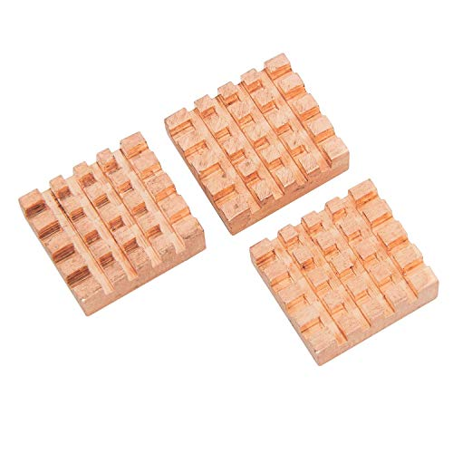 AZDelivery 3er Set passive Kupfer Kühlkörper für Raspberry Pi 3