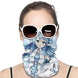 CrazyCoolArt Espada Arte Online Yuuki Asuna Variedad de Cabeza Pañuelo Pasamontañas Unisex Suave Viento Novedad Diadema Para Deportes Senderismo