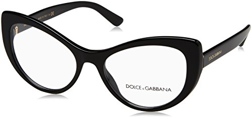 Dolce & Gabbana Brillen PRINTED DG 3285 BLACK Damenbrillen