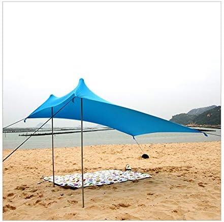 CAIJUN Toldo Refugio Playa Lona Carpas De Camping Pérgola Protector Solar Resistencia A Vientos Fuertes Alta Elasticidad Portable, 2 Estilos (Color : ...