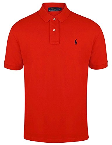 Ralph Lauren Herren Poloshirt Custom Fit von Ralph Lauren Size: XL / RED
