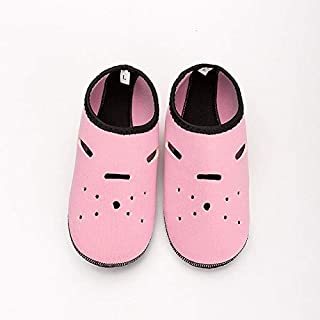CUSHY Neoprene Diving Socks Gloves Wholesale Non-Slip Snorkeling Swimming Beach Socks for Adult Children Water Sports Shoes Yoga Shoes: Pink, XL
