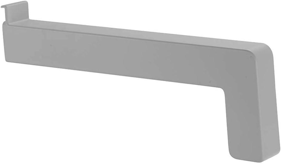 RAL 9016 Farbe:wei/ß Stossverbinder Fensterbank Verbinder Fensterbrett Aluminium ALLE AUSLADUNGEN Ausladung in mm:195