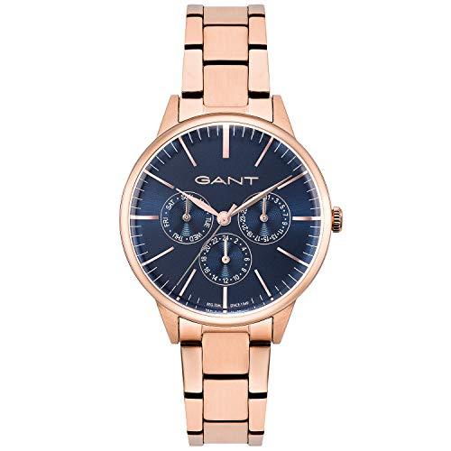 Reloj de Pulsera de Acero Inoxidable para Mujer GANT de Oro Rosa