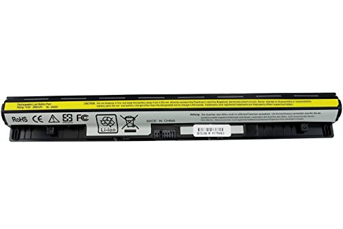 Shareway 4-Cell Replacement Laptop Battery for Lenovo G40 G40-45 G40-70M G40-80 G50 G50-45 G50-70M G50-80 Z50-30 Z50-70 Z40-70 L12L4A02 [14.8V 2600mAh]