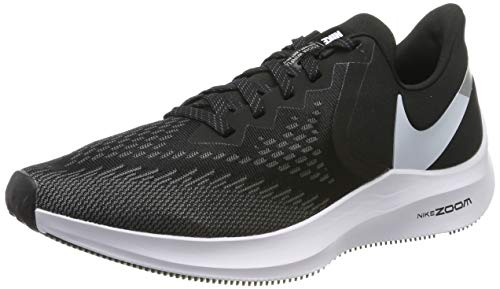 Nike Men's Running Shoes, Black (Black/White/Dk Grey/MTLC Platinum 001), US:5.5