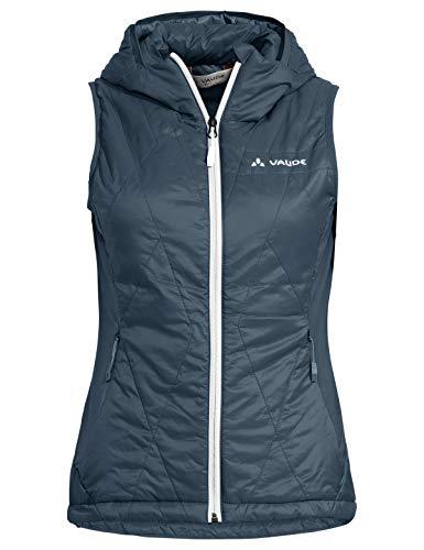 VAUDE Damen Weste Women\'s Freney Hybrid Vest IV, Steelblue, 38, 42298