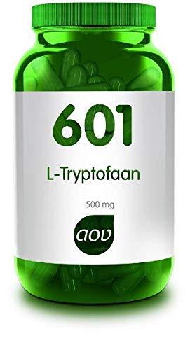 AOV 601 L-Tryptofaan Capsule, 500mg, 60 Stuk, 60 Capsules