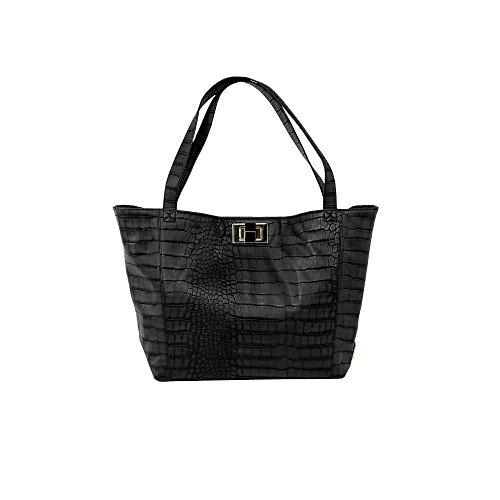 Rosie Pope Diaper Bag, Warren Tote, Black