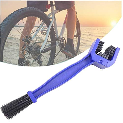 Gracy Cadena de la Bicicleta Cepillo de Limpieza Ciclismo Cadena Limpiador de escobillas depurador del Cepillo de Bicicletas Mantenimiento ToolCycling