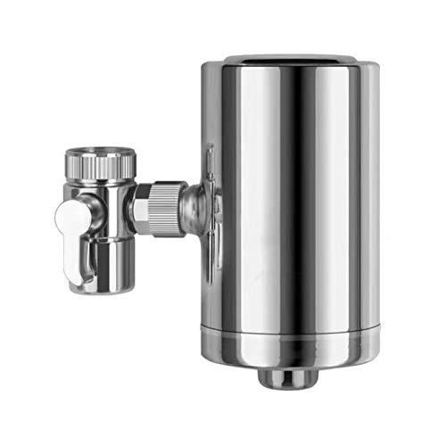 Roestvrijstalen roterende keukenkraan Waterzuiveraar 360 graden keukenkraan Luchtreiniger Filter Home Water om slechte smaak te verminderen Geur Chloor en sediment Drinkwater