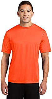 Dri-Tek Men's Big & Tall Short Sleeve Moisture Wicking Athletic T-Shirt