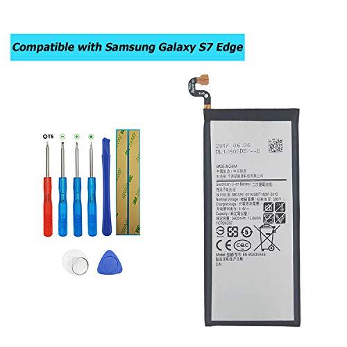 Upplus EB-BG935ABE - Batería de Repuesto Compatible con Samsung Galaxy S7 Edge SM-G935F con Kit de Herramientas