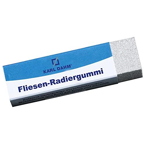Karl Dahm Art Nr.11255 Fliesenradierer Fliesen Radiergummi Schmutz entfernen auf Fliesen, Naturstein, Feinsteinzeug und Sanitärkeramik