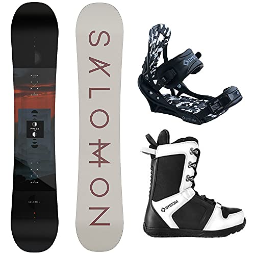 System Package-Salomon Pulse Snowboard 160 cm APX...