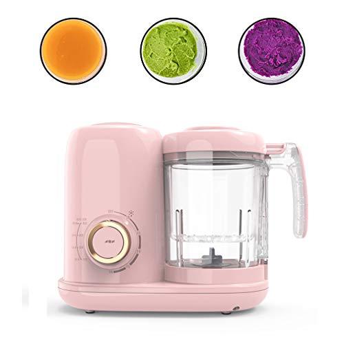 HOMED Smart Baby Food Processor-Maschine, Kind Dampfgarer Und Mixer, Sterilisator & Wärmer Für Bio-Lebensmittel Kochen, Pürieren Und Nachheizung - BPA Frei 300W