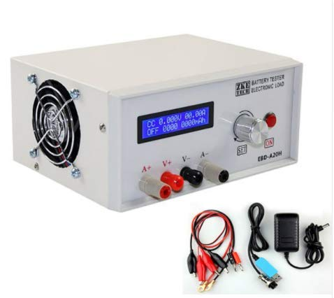 High Precision Digital Battery Capacity Tester Power Supply Tester DC12V 20A 200W