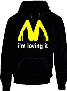 I'm Loving It McDonald's Funny Hoodie.
