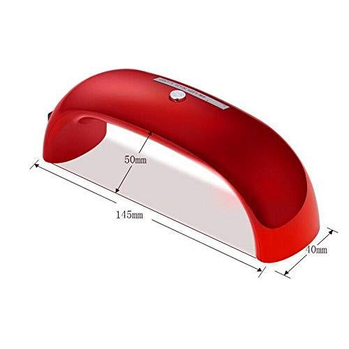 Dryer Nail 9 W Secador para uñas Lámpara UV LED Puente para uñas Arcobaleno Terapia de la Luz Duradero Mini Lámpara USB Gel Tratamiento Polimerización
