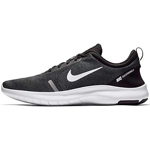 Nike Men's Flex Experience Run 8 Shoe, Black/White-Cool Grey-Reflective Silver, 10.5...