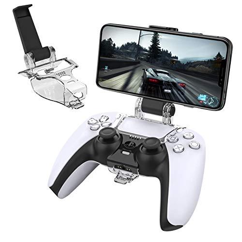 Newseego PS5 Controller Telefonhalterung,Klappbarer Handyhalter für Game Controller...