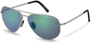 Porche Design Aviator Sunglasses For Unisex - Blue, P8508-Q-62