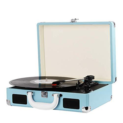 Denver Plattenspieler 3-Gang 33 1/3,45,78 RPM 2x1W Blau VPL-118