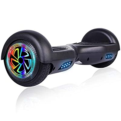 """FLYING-ANT Hoverboard Self Balancing Scooter 6.5"""" Flashing Wheels UL2272 Certified Favorite Pick for Children Adult Outdoor Sports Easy to Use"""