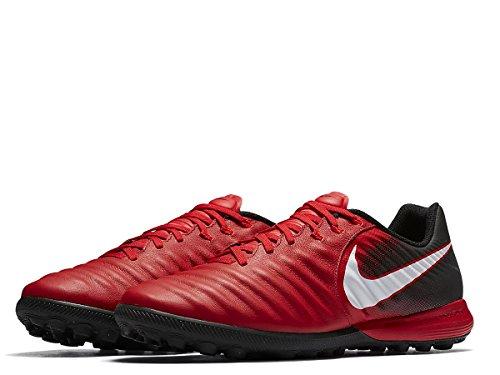 Nike Zapatillas de Fútbol Sala de Cuero para Hombre Rojo Rojo/Negro 40.5 EU