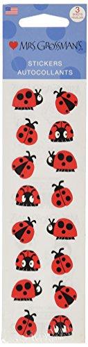 Mrs Grossman Stickers-Chubby Ladybugs