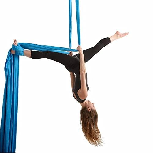 Linyuex 9 Yardas de Yoga aérea sedas de Yoga Anti-Gravedad Yoga Hamaca Swing Swing Yoga para Gimnasia acrobática. (Color : Style G)