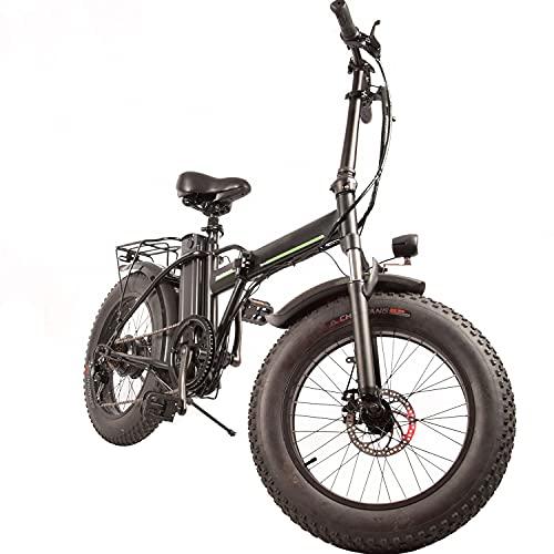 RSTJ-Sjef Bicicleta Eléctrica con Neumático Gordo De 20 Pulgadas 48V 500W Motor...