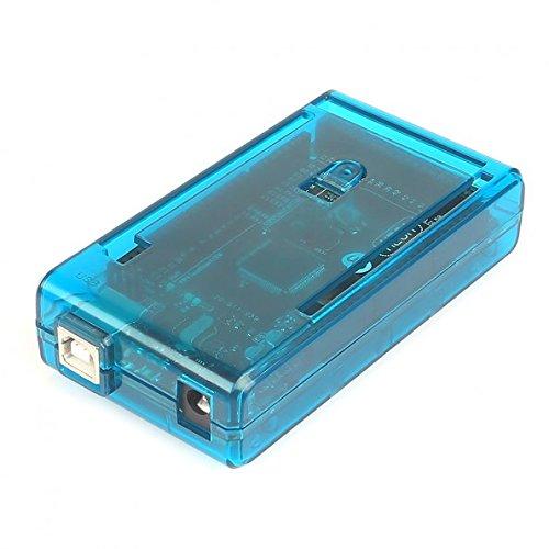 SB Components Cubi-060BEU - Caja para Controlador Arduino Mega 2560 R3, Color Azul traslúcido