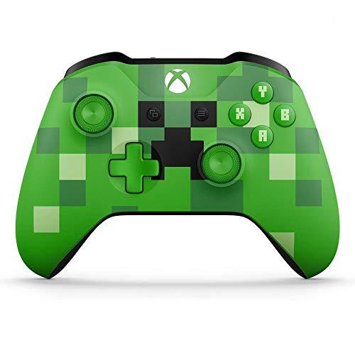 Microsoft - Mando Inalámbrico: Edición Limitada Minecraft Creeper (X
