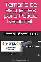 Temario de esquemas para Policía Nacional 2020