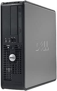 Dell Optiplex, WIFI, Intel Pentium D 3.4 GHz, 160 GB HDD, New 4GB Memory, DVD/CDRW, Windows 10 Home X64 - (Renewed)