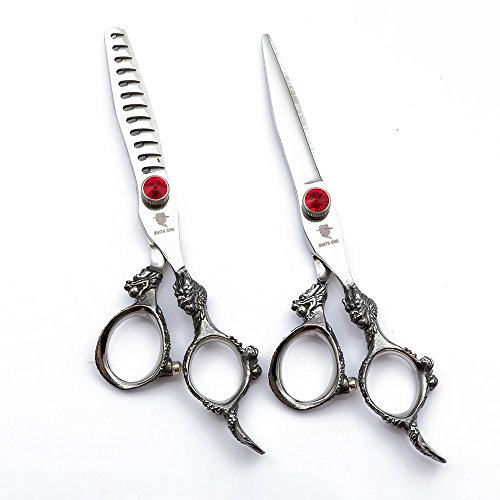 SMITH CHU Professional Hair Cutting Scissors Set - Razor Sharp Japanese 440C...