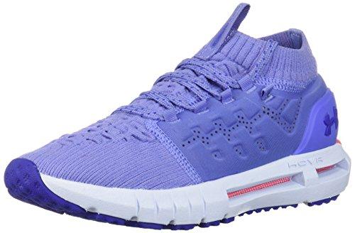 Under Armour Girls' Grade School HOVR Phantom Athletic Shoe, Talc Blue (500)/Oxford Blue, 6