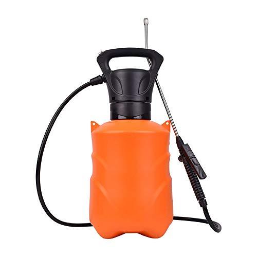 Wangxiaoxia-Gardening Regadera 6L La Bomba del pulverizador de presión for el jardín del césped del césped pulverizador portátil con Correa for el Hombro (Naranja) Productos de Jardinería
