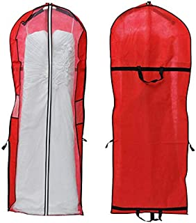 Majinz Store Clothing Covers Storage Bag Clothing Cover Clothes Protector Case for Wedding Dress Gown Garment Jun2
