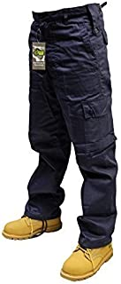 Dallaswear Adults 6 Pocket Army Combat Trousers Cargos W28-56 Short, Reg & Long Legs in 18 Colours!