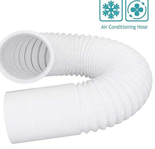 NUJA 1pc 4-6 '' Escape plástico acondicionador de Aire de la Manguera Flexible de Acero Tubo de Aire Conductos Tubo for Inline Ventilador Inicio Sistema de ventilación de Aire Fresco